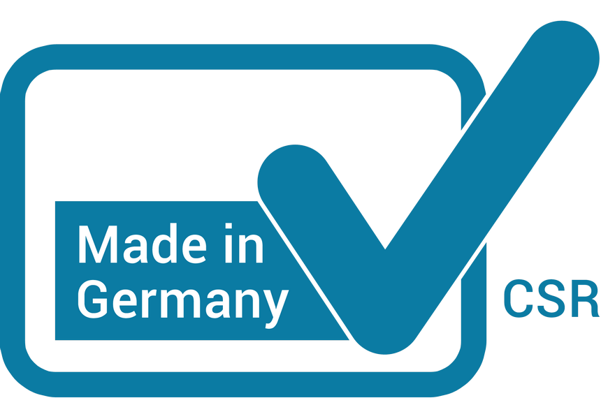 """CSR Made in Germany"" Label"