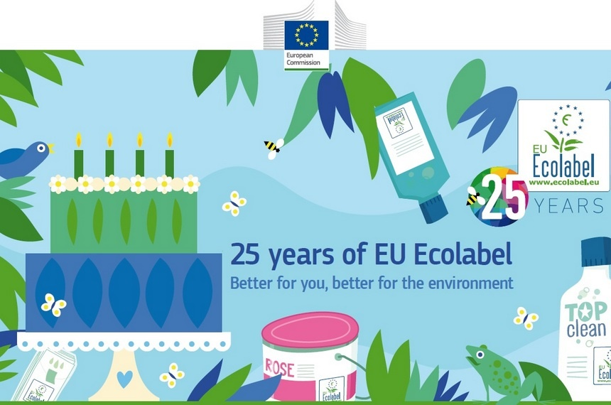 EU Ecolabel celebrates 25 years of life!
