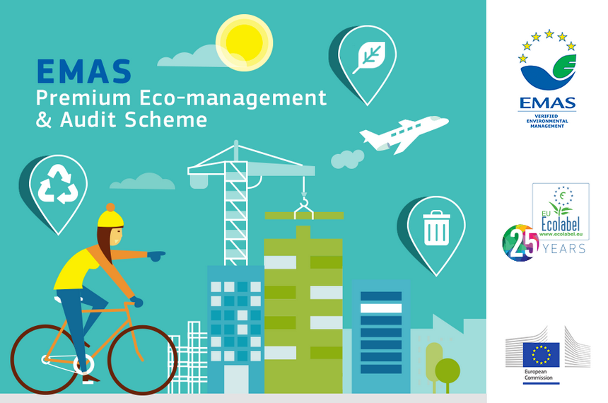 Eco management and audit scheme (emas) development in cluster.